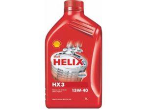 Минеральное моторное масло Shell Helix HX3 15w-40 1л