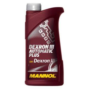 минеральное масло Mannol Automatic PLUS ATF DEXRON III, трансм., 1л