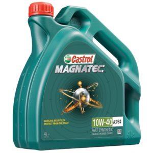 полусинтетическое масло Castrol magnatec 10W40 4л