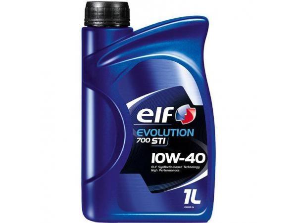 полусинтетическое масло ELF Evolution 700 STI 10W40 1л