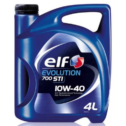 полусинтетическое масло ELF Evolution 700 STI 10W40 4л