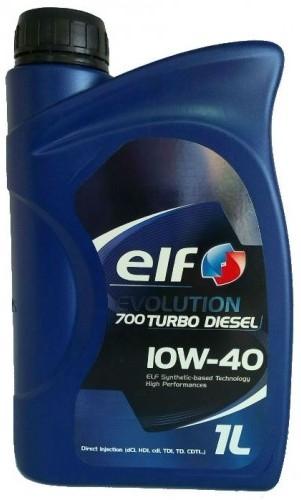полусинтетическое масло ELF TURBO DIESEL 10W40, 1л