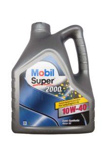 полусинтетическое масло Mobil Super S, 10W40, 4л